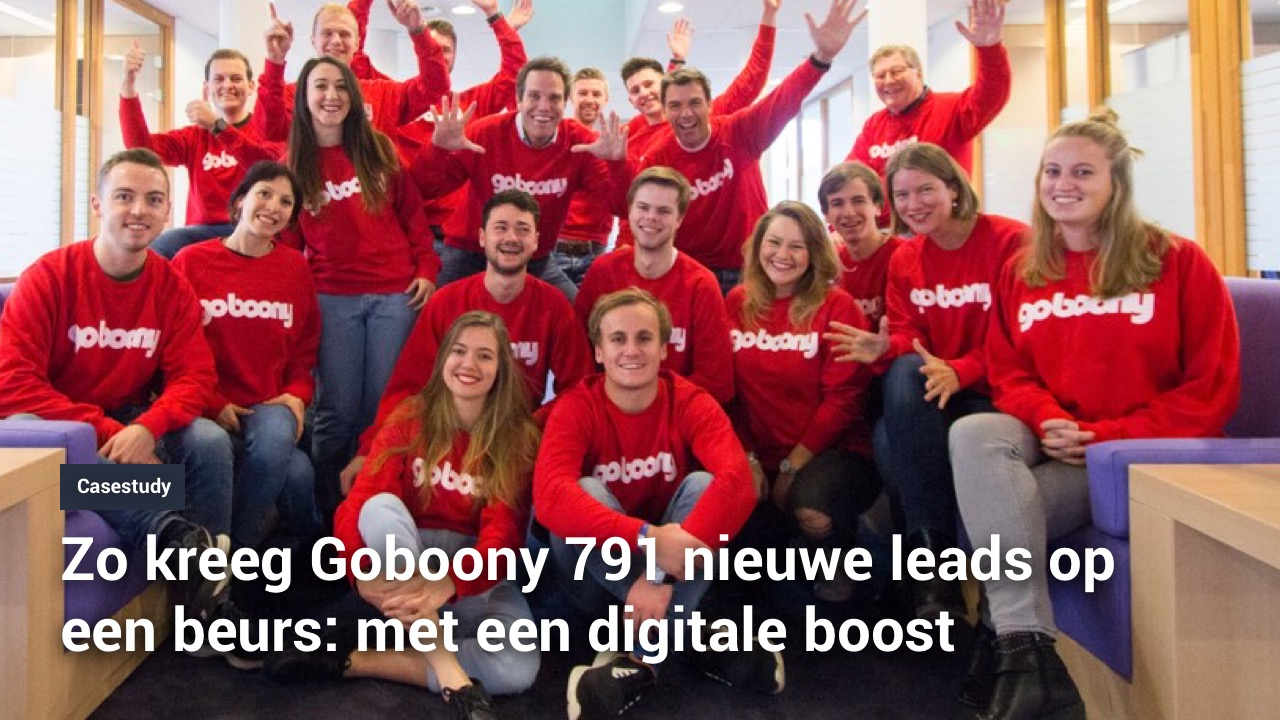 digitale marketing goboony boost leads